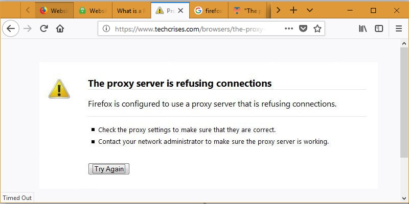 Не работает тор браузер the proxy server is refusing connections gydra дополнения к тор браузер gidra