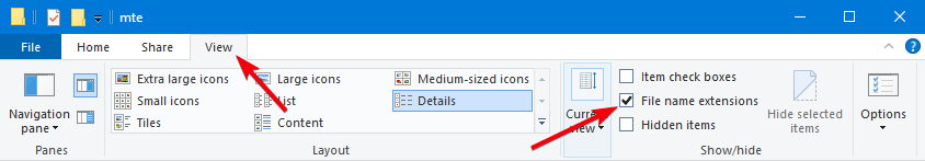 File Explorer Tips 01 Enable File Extensions