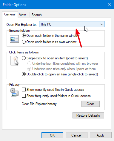 File Explorer Tips 02 This Pc