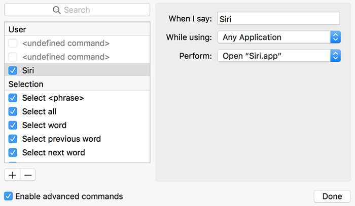 Hey Siri Old Macs Create Command