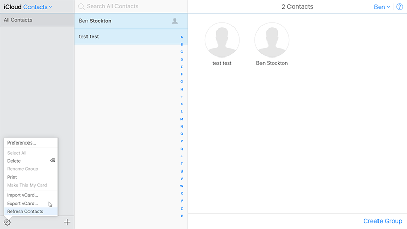Icloud Android Contacts Export