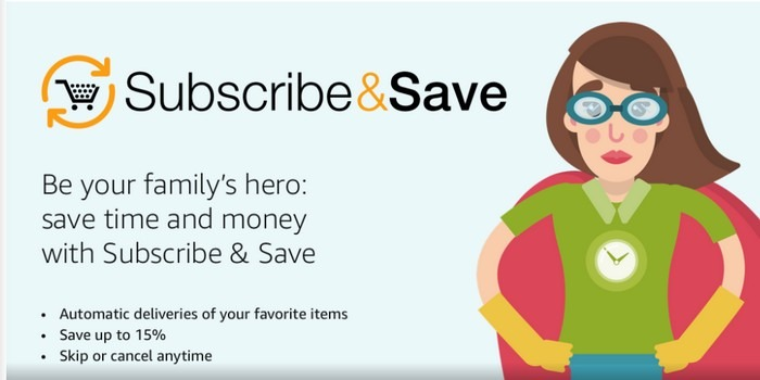 Amazon Subscribesave