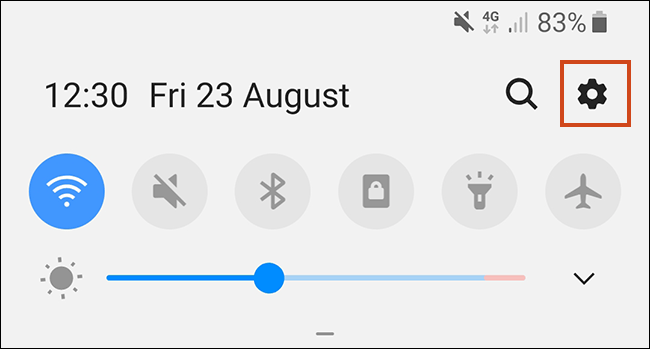 The Notifications Area for Android Phones