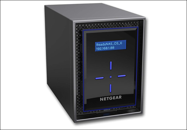 The Netgear ReadyNAS RN422 Network Drive.