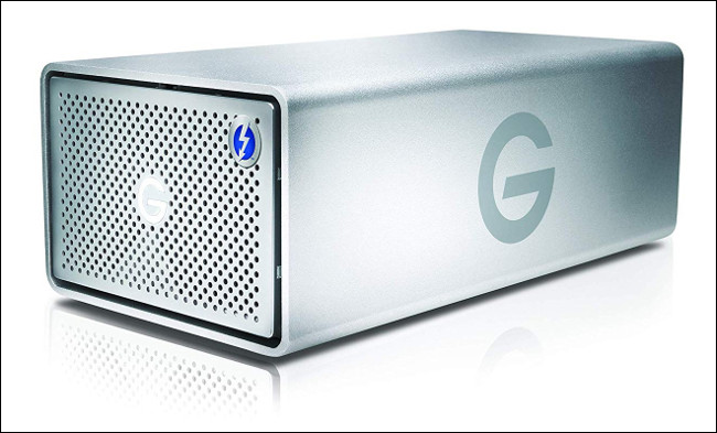 The G-Tech G-RAID Enclosure.
